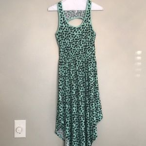 Xhilaration Teal Hankerchief Dress